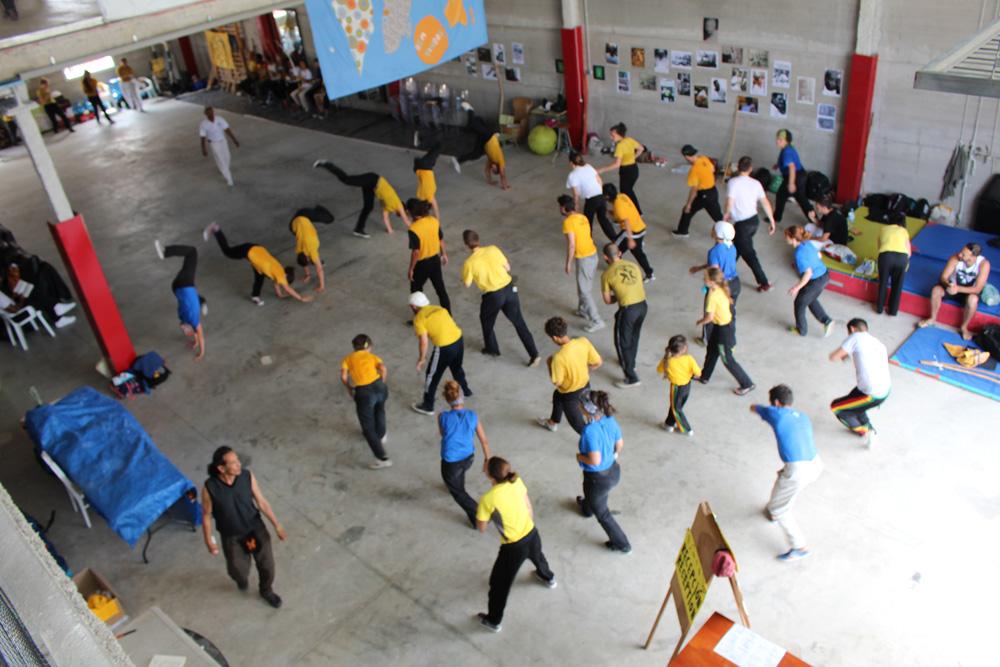 Vivencia de Capoeira Angola con Mestre Gato Preto e CM Daniel