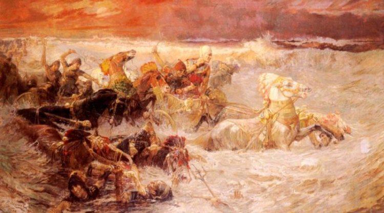 Faraó morreu afogado