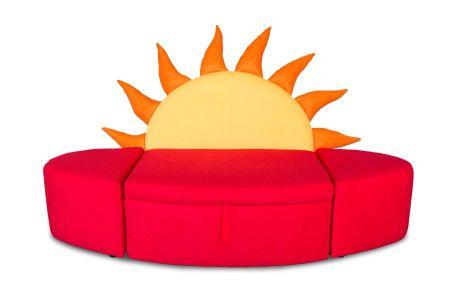 Kindersofa Sonnenaufgang