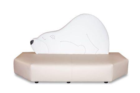 Kindersofa Eisbär