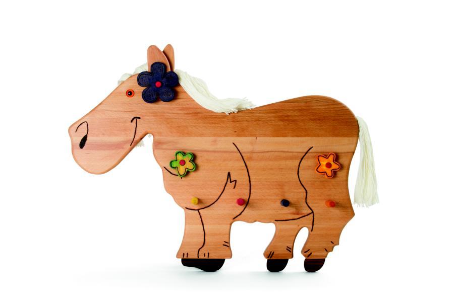 Kindergarderobe Pferd