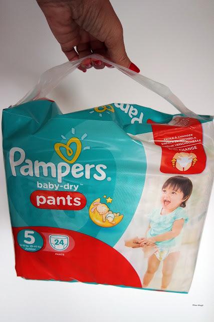 Pampers Baby-Dry Pants, saugstarke Höschenwindel und Gewinnspiel füreuch