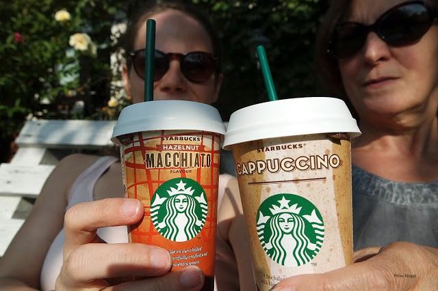 Coffee to go Getränke von Starbucks