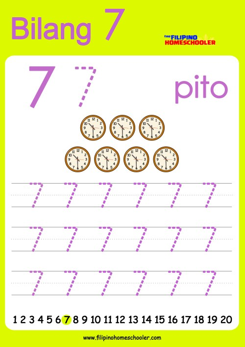 small resolution of FREE Filipino Numbers Worksheets from 1-10 — The Filipino Homeschooler