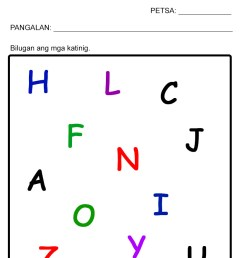 3 Free Katinig Worksheets (Set 1) — The Filipino Homeschooler [ 1169 x 827 Pixel ]