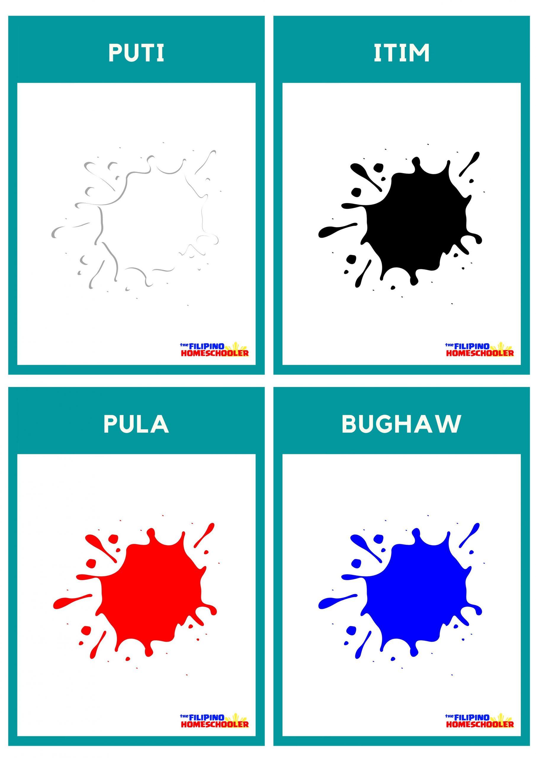 Free Filipino Flashcards