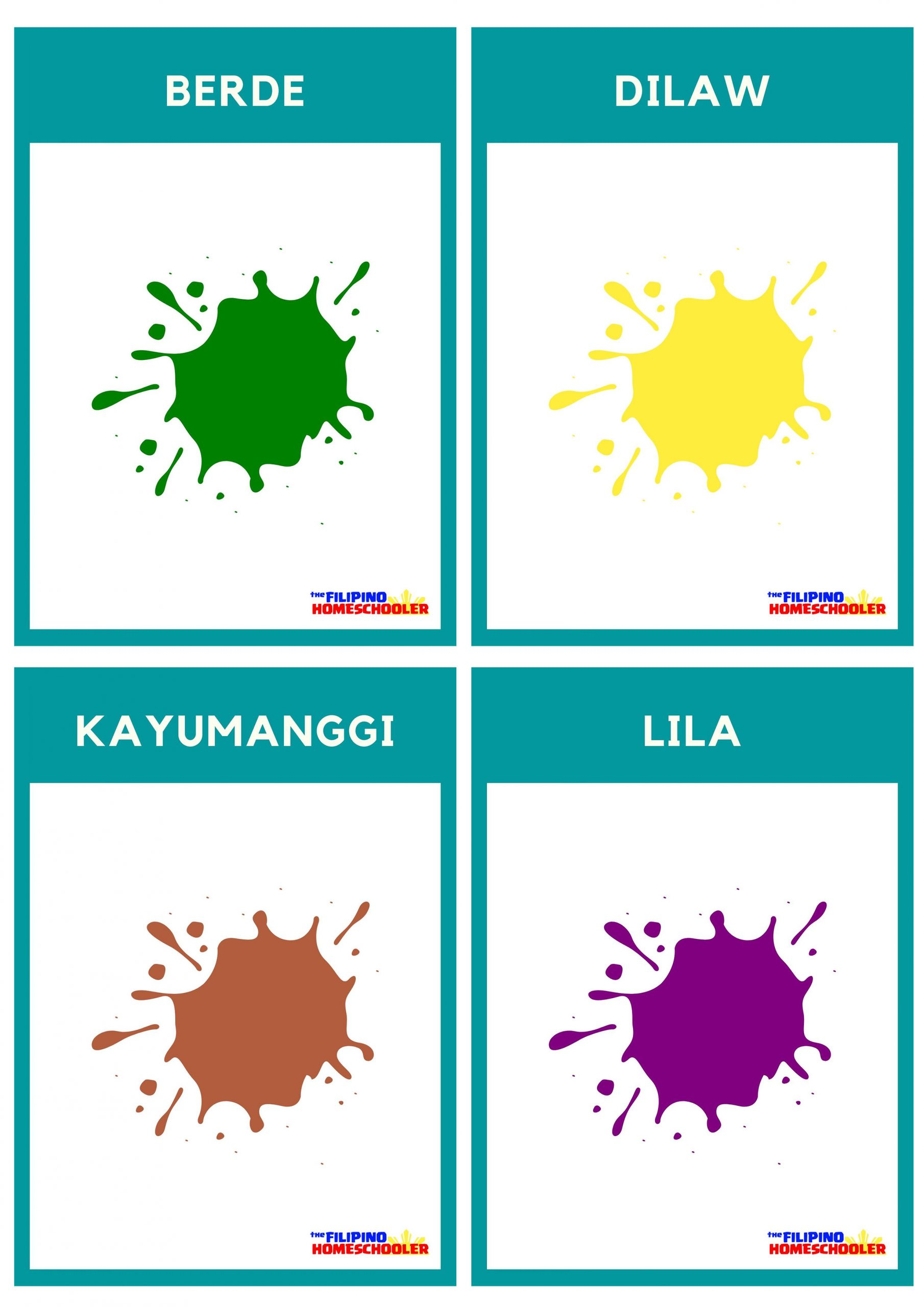 Free Filipino Flashcards