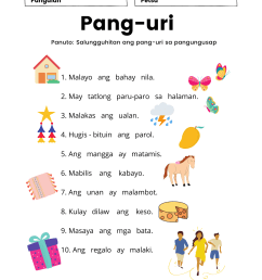 Worksheet For Grade 4 Pang Uri   Printable Worksheets and Activities for  Teachers [ 2000 x 1414 Pixel ]