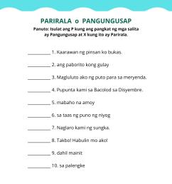 Uri Ng Panghalip Worksheet   Printable Worksheets and Activities for  Teachers [ 2000 x 1414 Pixel ]