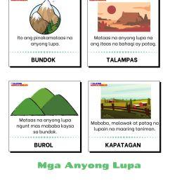 Mga Anyong Lupa Worksheets   Printable Worksheets and Activities for  Teachers [ 2000 x 1414 Pixel ]