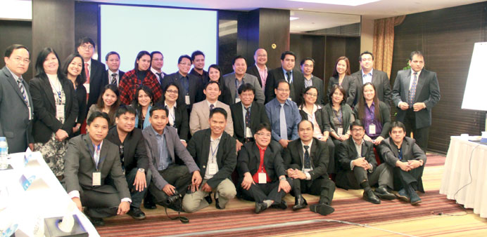 Young Filipino professionals urged to enhance educational qualifications