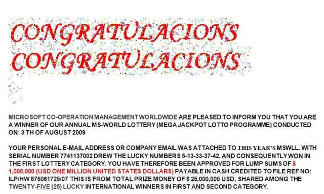 """And these fools can't even spell """"congratulations"""" properly!"""