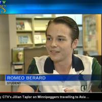 Meet Romeo Berard, a 16-year-old Canadian visionary