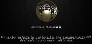 anonymous philippines