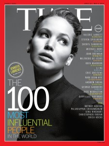 jennifer lawrence - time 100
