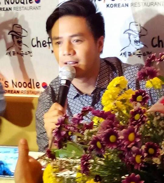 Sam Concepcion is Chef's Noodle Philippines' latest endorser