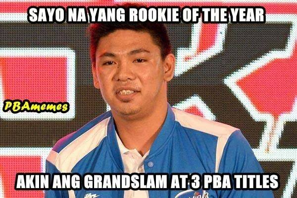 Ian Sangalang should be rookie of the year, says San Mig Coffee fans