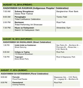 kadayawan festival 2014