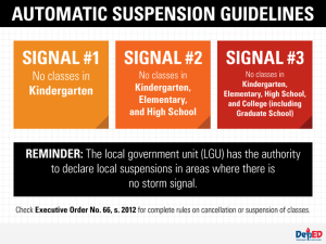 september 20 2014 class suspensions
