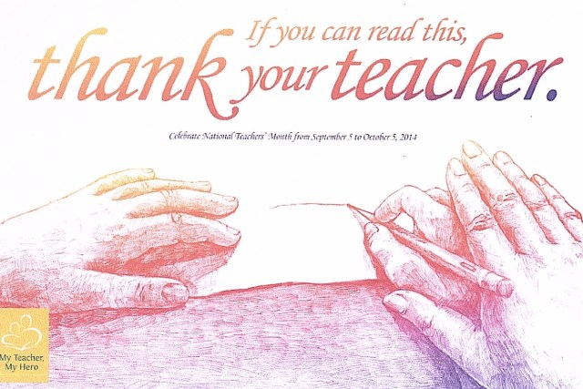 National Teachers Day 2014 in the Philippines