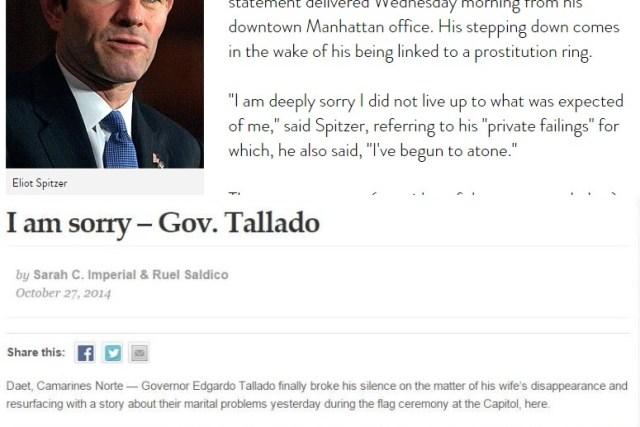 Gov. Edgardo Tallado faces possible suspension or removal from office