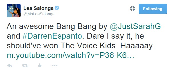 lea salonga on darren espanto
