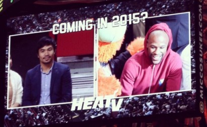 WATCH IT HERE: Manny Pacquiao meets Floyd Mayweather, finally