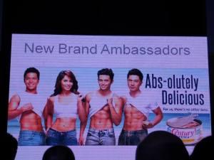 century tuna new brand ambassadors