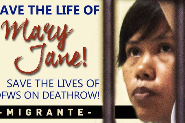 Who to blame for Mary Jane Veloso's Execution?