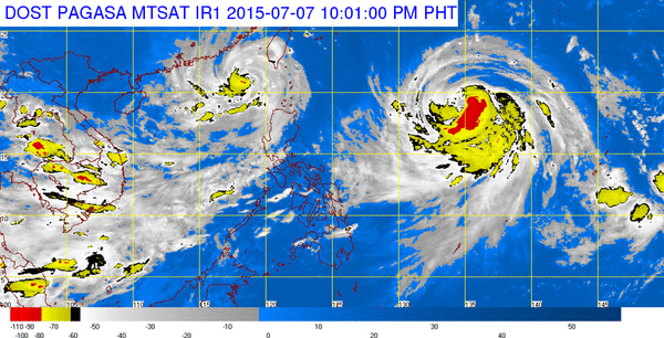 #WalangPasok – Class suspensions for July 8 2015; Typhoon Falcon updates