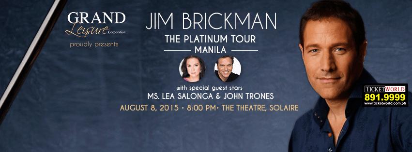 Did a copyright infringement case force Jim Brickman to cancel his Manila concert?