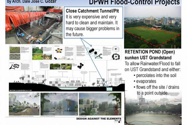 UST cannot be faulted for rejecting DPWH's flood control project