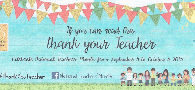 National Teachers Month in the Philippines 2015