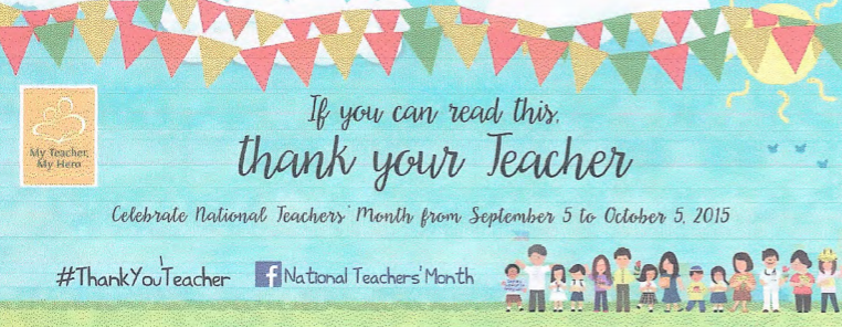 national teachers month philippines 2015