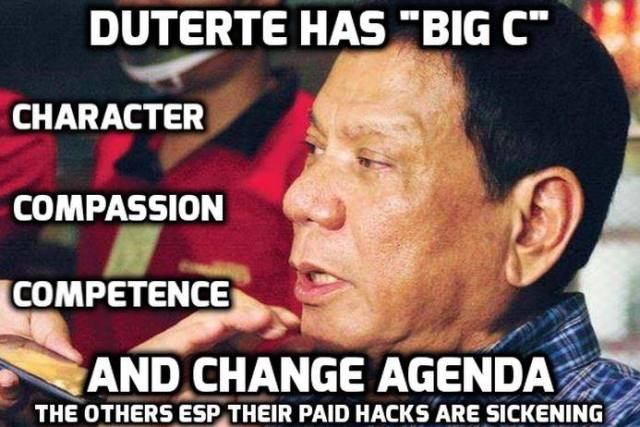 Duterte has no throat cancer, says his spokesperson