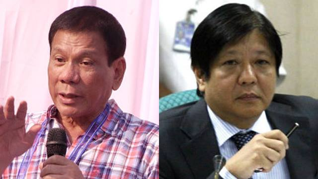 A Duterte-Marcos tandem for 2016 makes perfect sense, politically speaking
