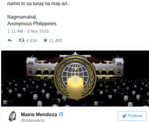 Yaya Dub Mendoza Twitter hacked