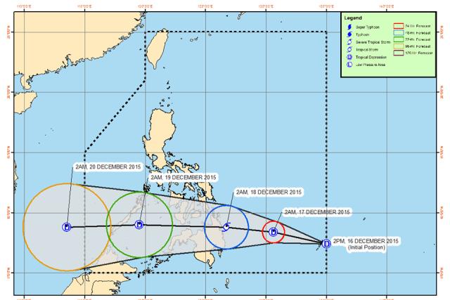 Tropical depression 'Onyok' enters PAR, threatens eastern Mindanao