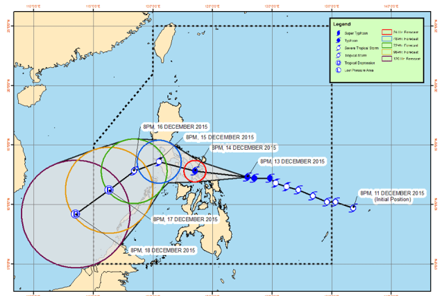 #WalangPasok – Class suspensions for December 16 2015 due to Typhoon Nona