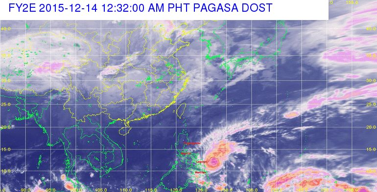 typhoon nona storm surges