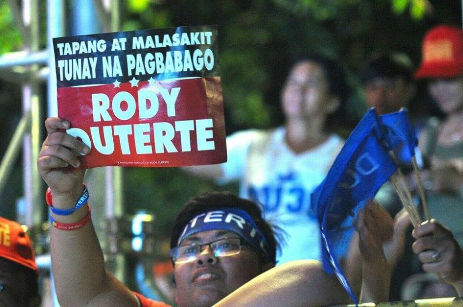 rody duterte supporters