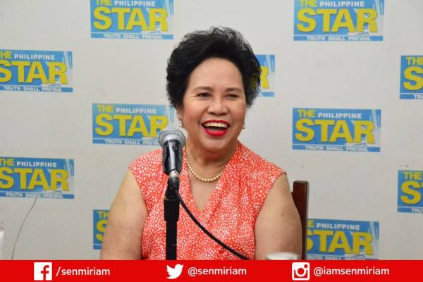 miriam defensor santiago human rights issues