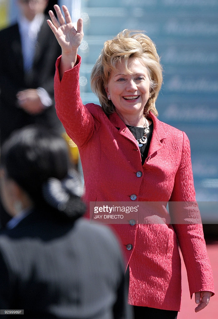 Hillary Clinton in Manila 2009