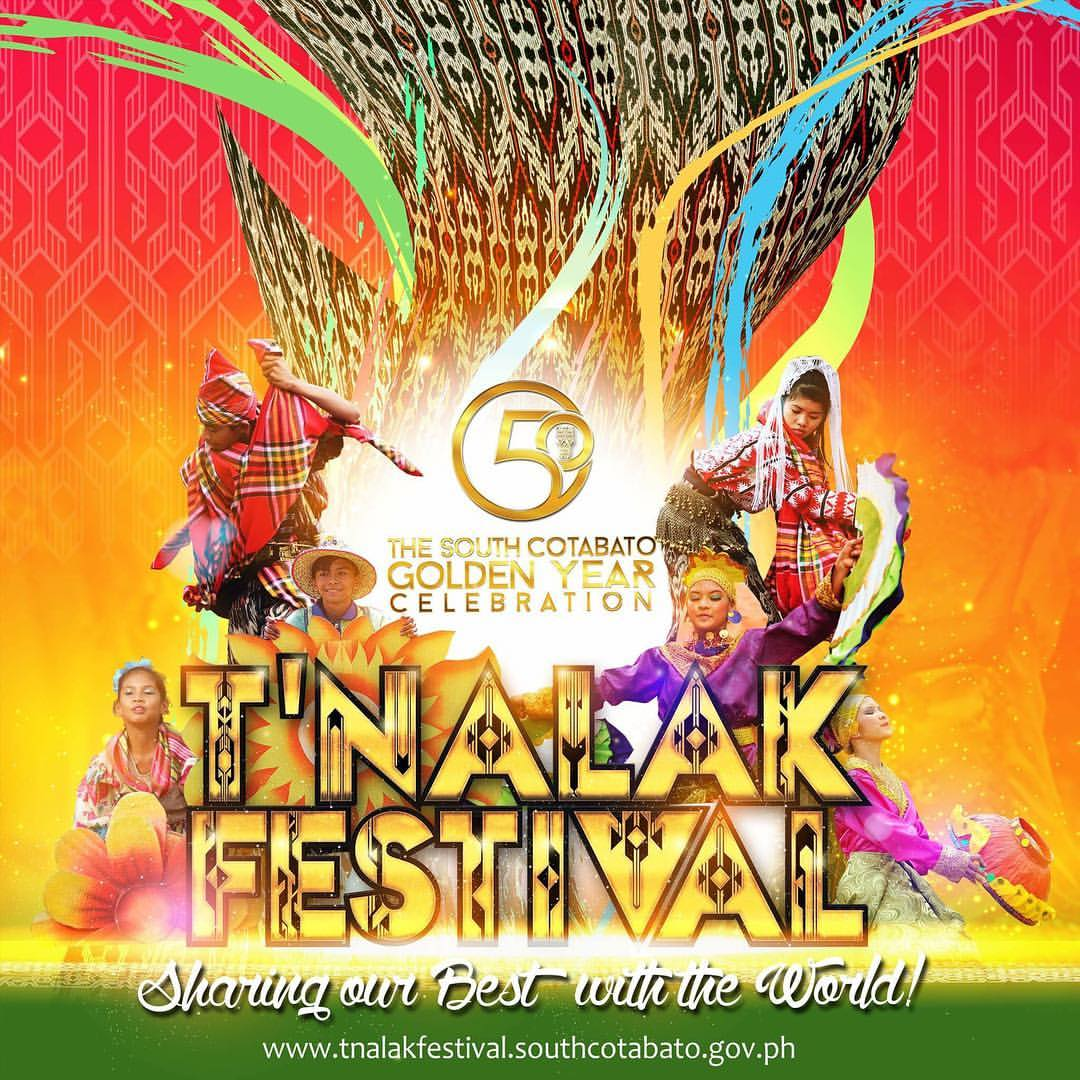 TNALAK FESTIVAL - July 18 2016 declared a holiday in South Cotabato
