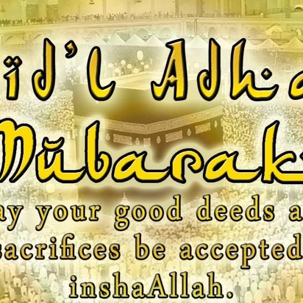 Eid'l Adha – September 12 2016 Philippine holiday