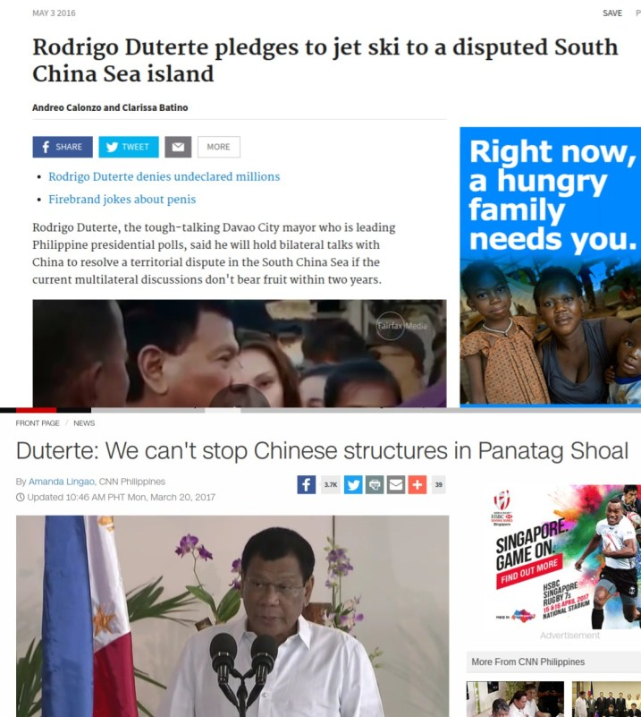 Duterte China foreign policy