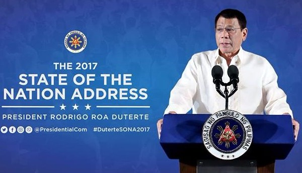 Duterte 2017 State of the Nation Address