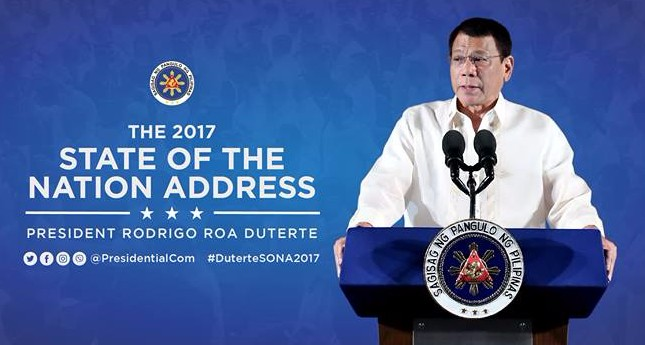 Duterte 2017 State of the Nation Address