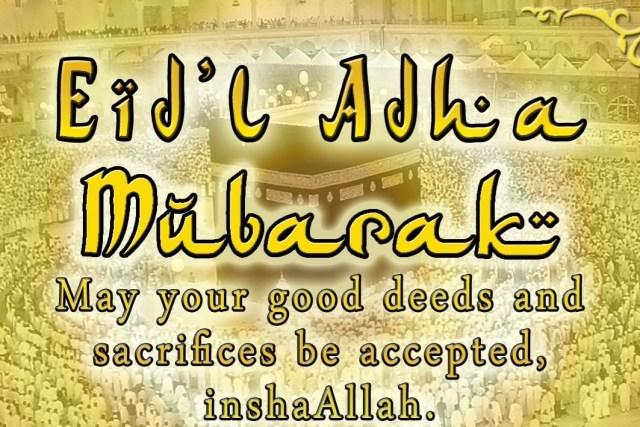 EID'L ADHA – September 1 2017 Philippine holiday