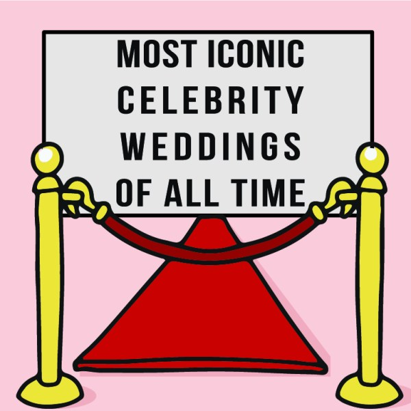 Most iconic celebrity weddings of all time